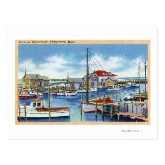Harborview of the Waterfront Postcard
