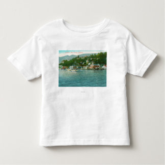 Harborview with Yachts and Sail Boats Toddler T-shirt