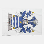 Harbou Family Crest Kitchen Towel