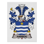 Harbou Family Crest Print