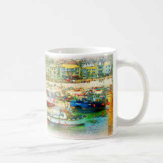 HARBOUR AS A PAINTING COFFEE MUG