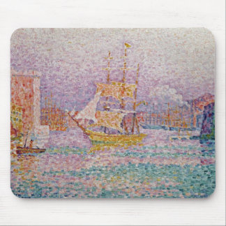Harbour at Marseilles, c.1906 Mouse Pad