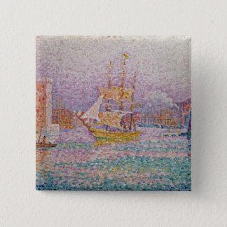 Harbour at Marseilles, c.1906 Pinback Button