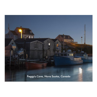 Harbour At Peggy s Cove postcard