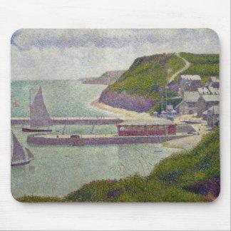 Harbour at Port-en-Bessin at High Tide, 1888 Mouse Pad