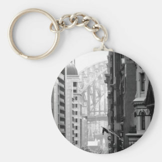 Harbour Bridge View 1 Keychain