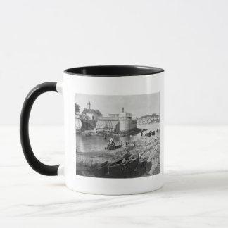 Harbour, Concarneau Mug