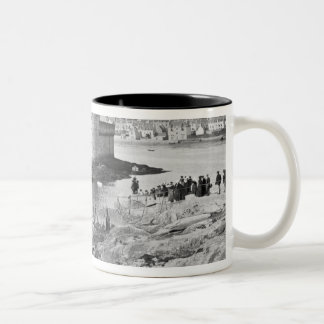 Harbour, Concarneau Two-Tone Coffee Mug