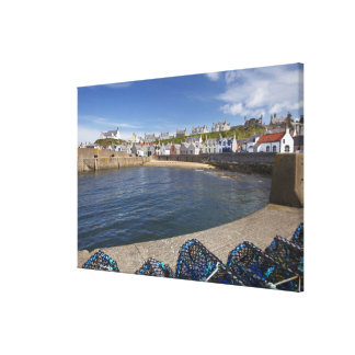 Harbour, Findochty, Moray, Scotland, United Stretched Canvas Prints