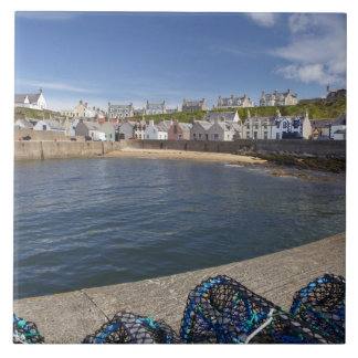 Harbour, Findochty, Moray, Scotland, United Ceramic Tile