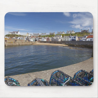 Harbour, Findochty, Moray, Scotland, United Mouse Pad