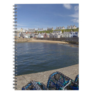 Harbour, Findochty, Moray, Scotland, United Notebook