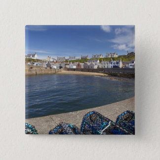 Harbour, Findochty, Moray, Scotland, United Pinback Button