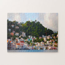 Harbour Grenada Caribbean. Jigsaw Puzzle