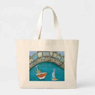 Harbour Houses Tote Bag