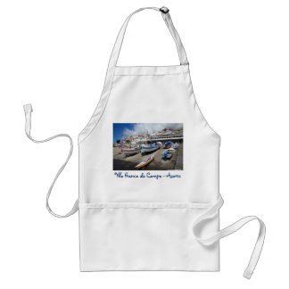 Harbour in Azores Adult Apron