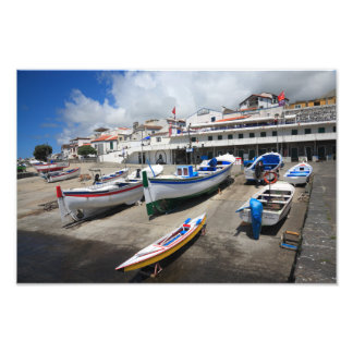 Harbour in Azores Photograph