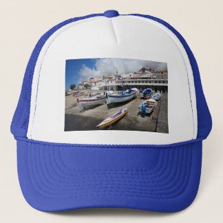 Harbour in Azores Trucker Hat