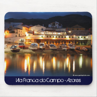 Harbour in the Azores Mouse Pad