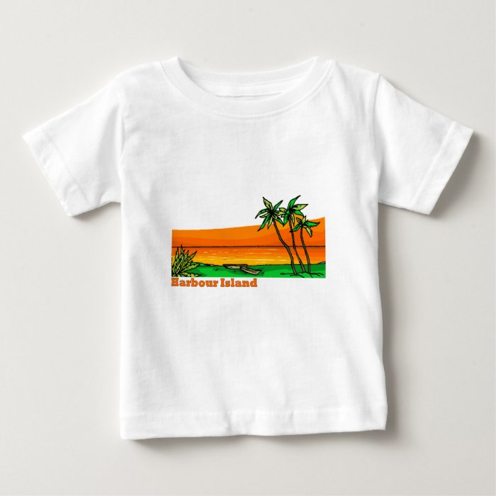 Harbour Island, Bahamas Baby T-Shirt