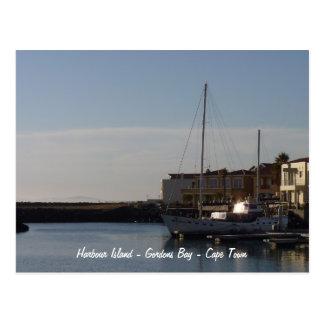 Harbour Island - Gordons Bay - Cape Town Postcard