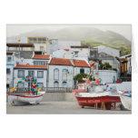 Harbour of Vila Franca do Campo Card