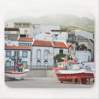 Harbour of Vila Franca do Campo Mouse Pad