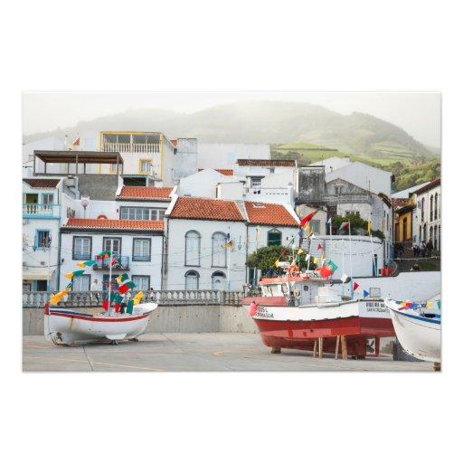 Harbour of Vila Franca do Campo Photo Art