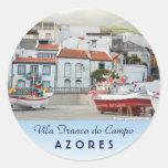 Harbour of Vila Franca do Campo Stickers