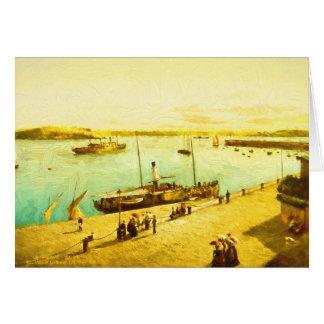 Harbour Parasols Card