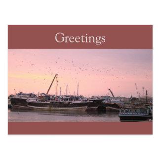 Harbour Postcard