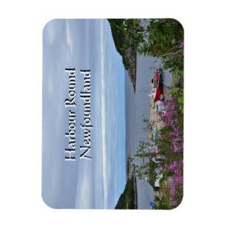Harbour Round Magnet
