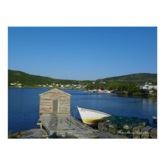 Harbour Round, Newfoundland Print