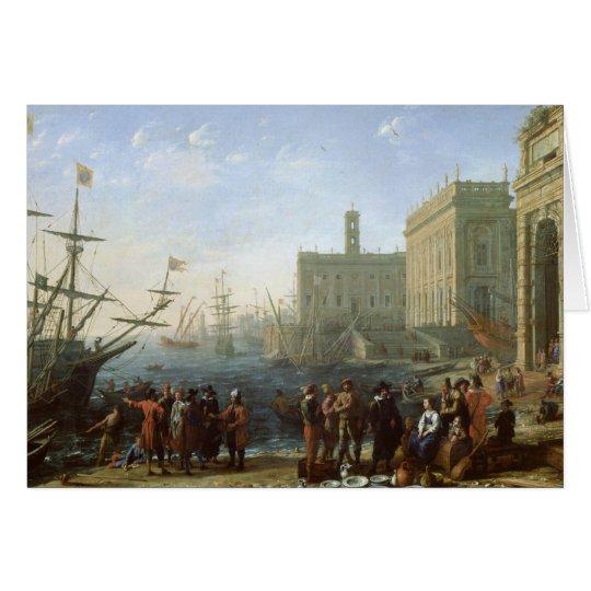 Harbour Scene Card