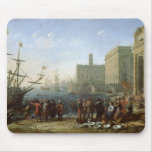 Harbour Scene Mouse Pads