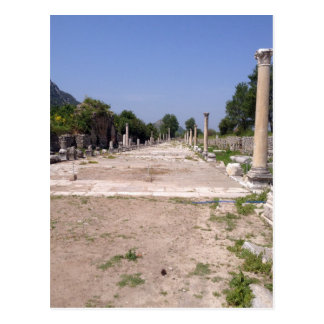 Harbour Street, Ephesus Post Card