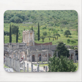 Harbour Street Towards Celsus Library, Ephesus Mouse Pad