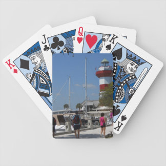 Harbour Town in Hllton Head, SC Bicycle Playing Cards