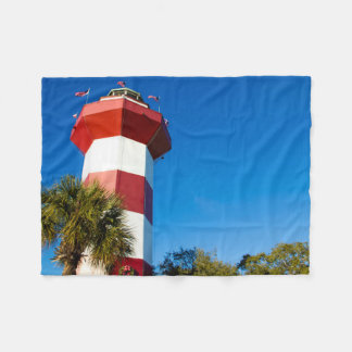 Harbour Town Lighthouse Fleece Blanket