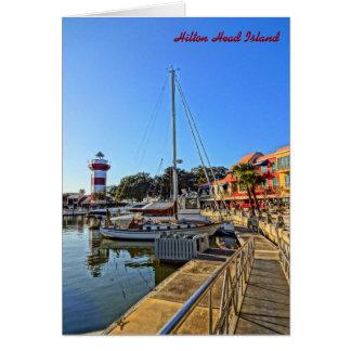 Harbour Town Lighthouse - Hilton Head Island SC Card