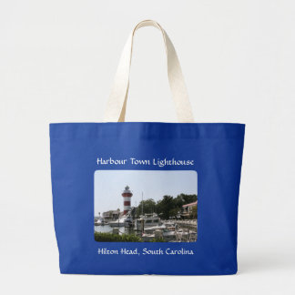 Harbour Town Lighthouse Hilton Head SC Totebag Tote Bag