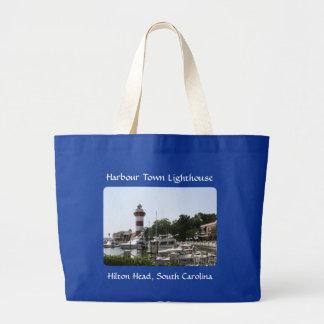 Harbour Town Lighthouse Hilton Head SC Totebag Bag