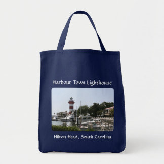 Harbour Town Lighthouse Hilton Head SC Totebag Bags