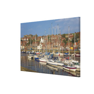 Harbour, Whitby, North Yorkshire, England Gallery Wrapped Canvas