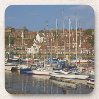 Harbour, Whitby, North Yorkshire, England Beverage Coasters