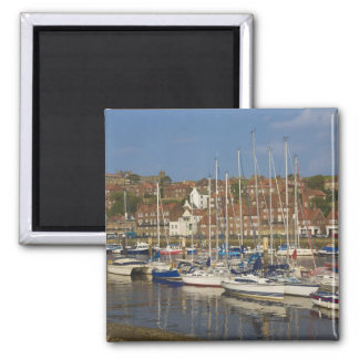Harbour, Whitby, North Yorkshire, England Magnet