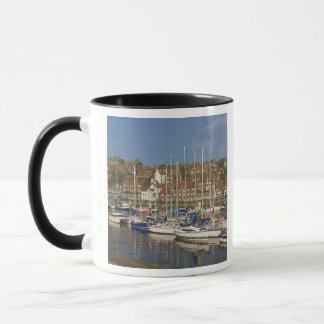 Harbour, Whitby, North Yorkshire, England Mug