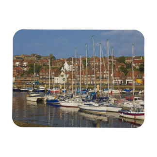 Harbour, Whitby, North Yorkshire, England Vinyl Magnet