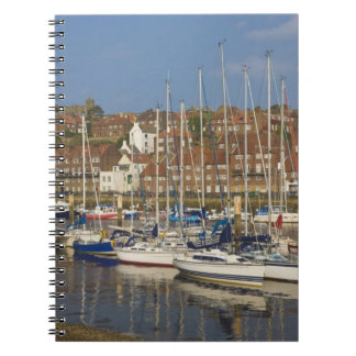 Harbour, Whitby, North Yorkshire, England Spiral Notebook