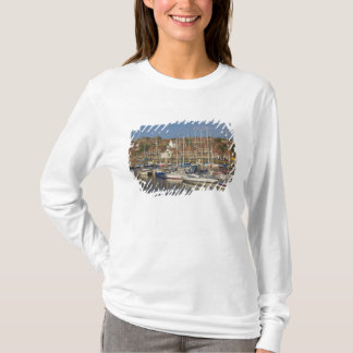 Harbour, Whitby, North Yorkshire, England T-Shirt